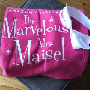 New Marvelous Mrs. Maisel Pink Fleece Blanket
